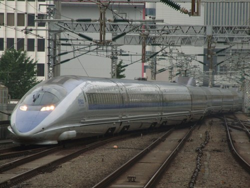 500系東京入線!