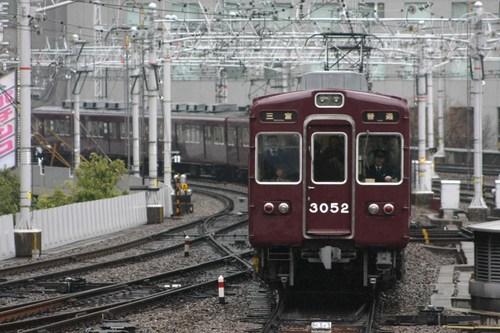 阪急3000系3052F