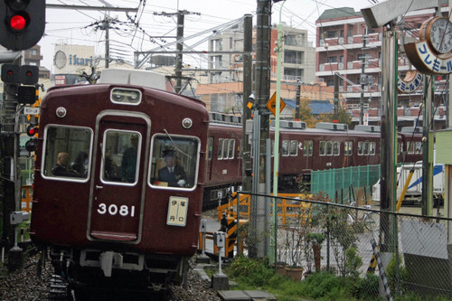 阪急3100系3081F