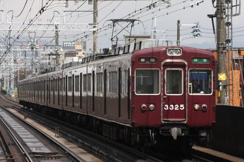 阪急3300系3325F