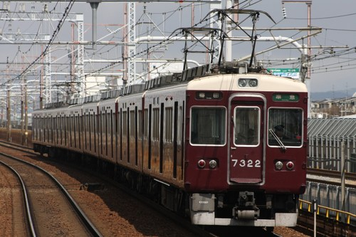 阪急7300系7322F