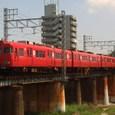 矢田川を行く準急6000系